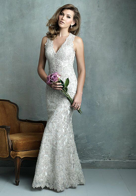 Allure Couture C320 Sheath Wedding Dress
