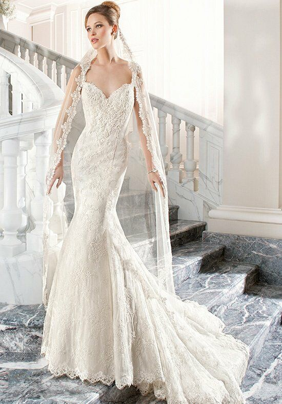 Demetrios C203 Mermaid Wedding Dress