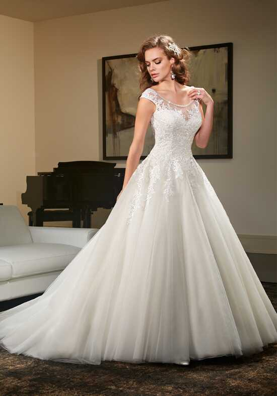 1 wedding by mary 39 s bridal 6439 wedding dress the knot for How do you preserve a wedding dress
