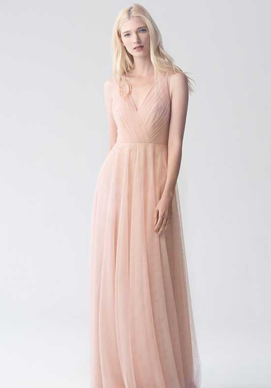Jenny Yoo Collection (Maids) Emelie {no applique} V-Neck Bridesmaid Dress
