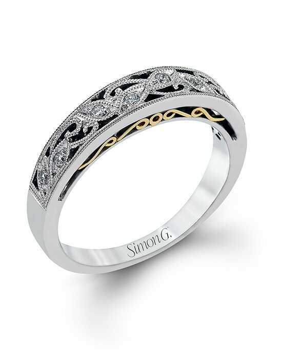 simon g jewelry - White Gold Wedding Ring