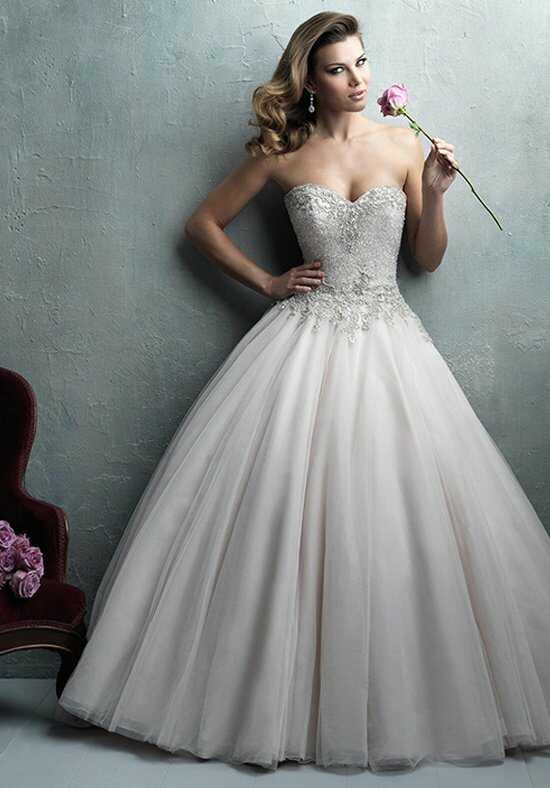 Allure Couture C323 Ball Gown Wedding Dress
