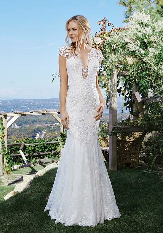 Lillian West 6437 Mermaid Wedding Dress