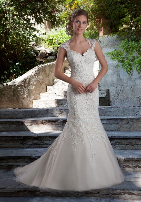 1 Wedding by Mary's Bridal 6538 Mermaid Wedding Dress