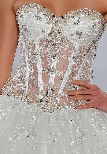 Pnina Tornai for Kleinfeld 4146 Ball Gown Wedding Dress