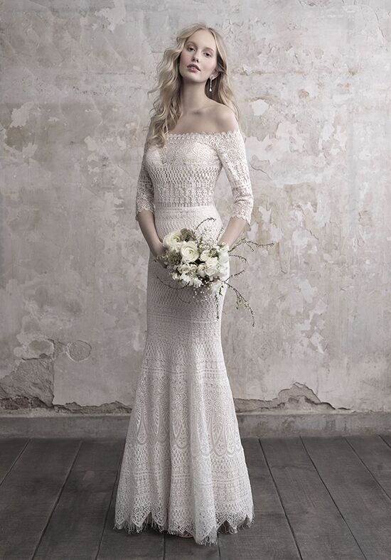 Madison James MJ470 Sheath Wedding Dress