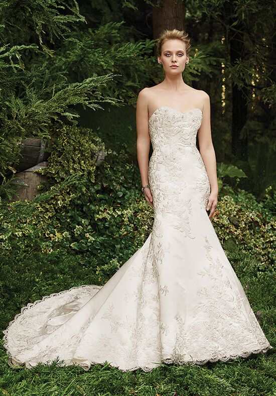 Casablanca Bridal 2257 Thistle Mermaid Wedding Dress