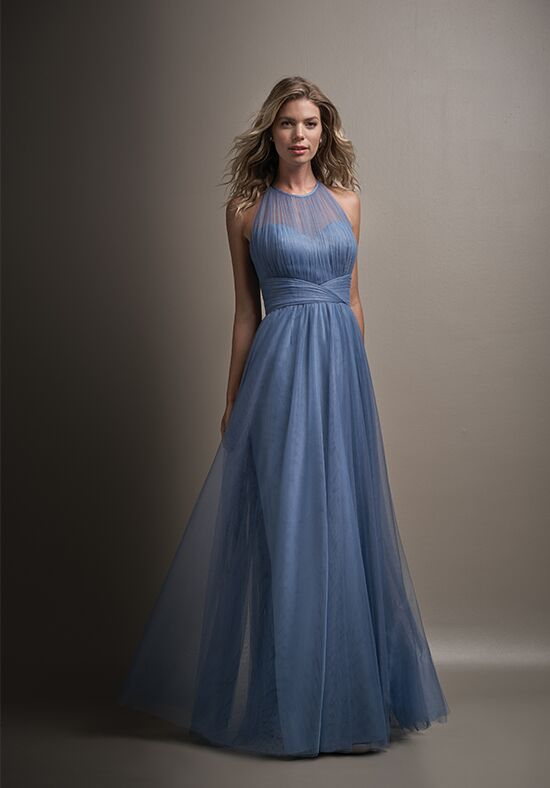Belsoie L194011 Illusion Bridesmaid Dress