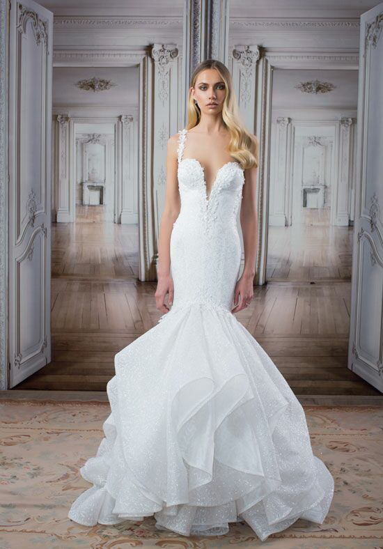 LOVE by Pnina Tornai for Kleinfeld 14487 Mermaid Wedding Dress