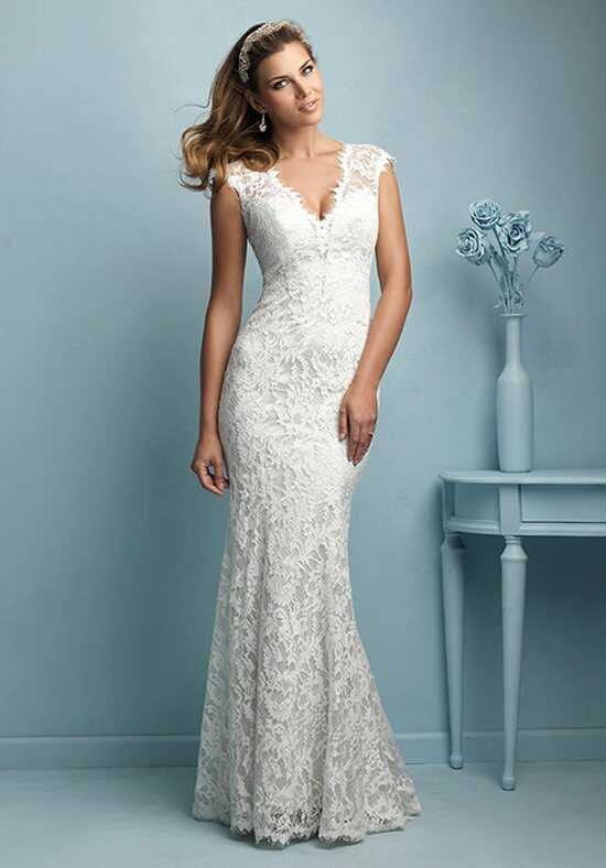 Allure Bridals 9206 A-Line Wedding Dress