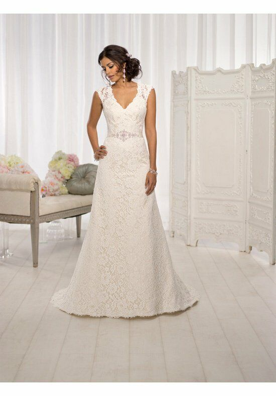 Essense of Australia D1598 A-Line Wedding Dress