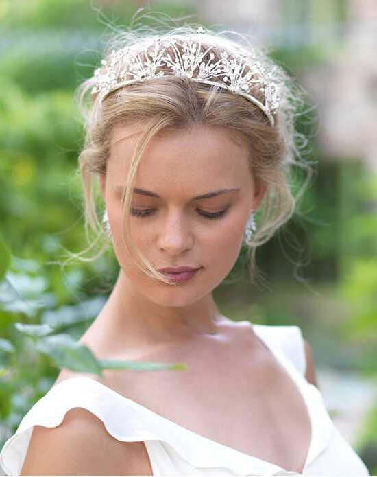 Dareth Colburn Odette Fl Wedding Crown