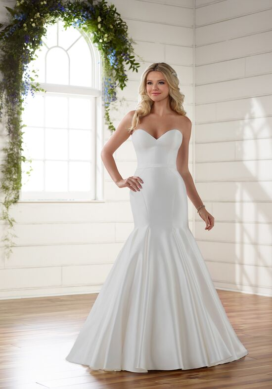 Essense of Australia D2216 Mermaid Wedding Dress