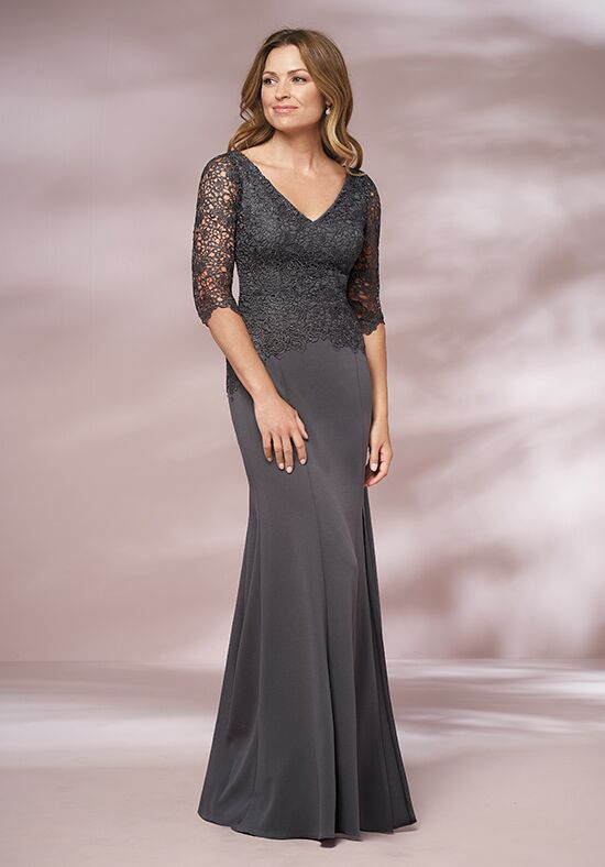 Jade J205010 Grey Mother Of The Bride Dress