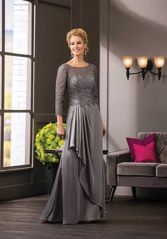 Jade Couture K188052 Silver Mother Of The Bride Dress