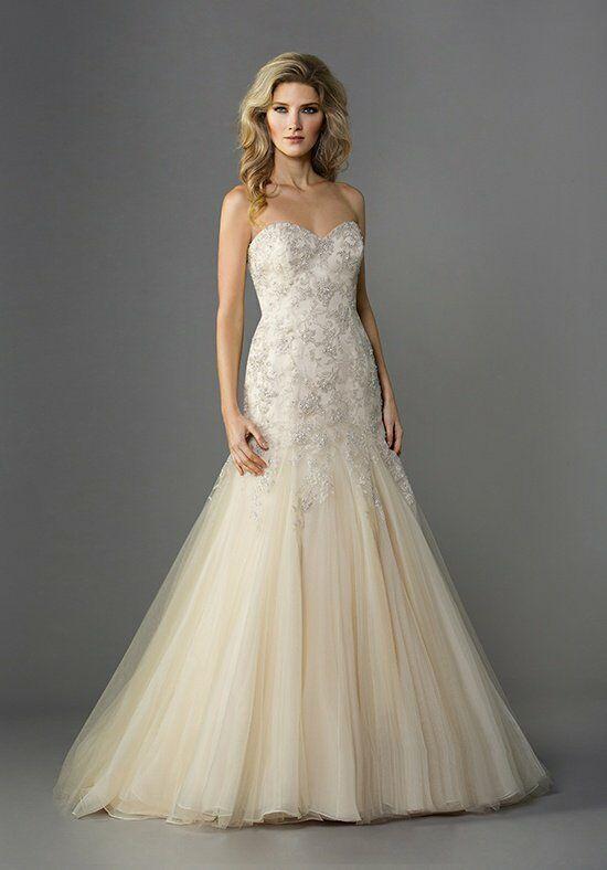 Jasmine collection f161057 wedding dress the knot for Jasmine collection wedding dresses
