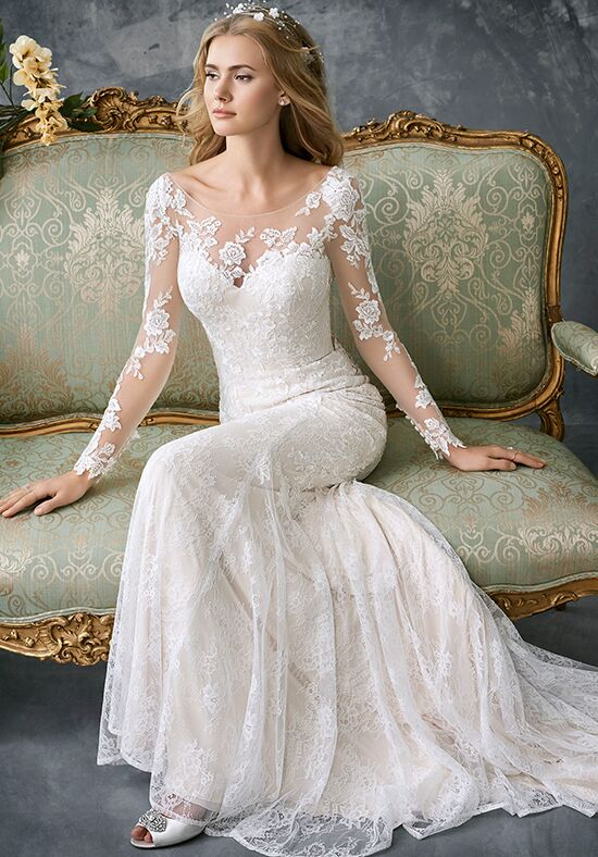 Kenneth Winston 1765 Sheath Wedding Dress