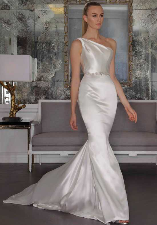 One shoulder wedding dresses romona keveza collection junglespirit Gallery