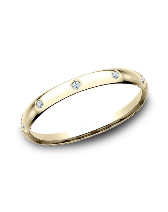 Benchmark LCF120DY Gold Wedding Ring