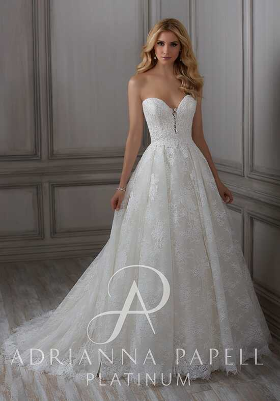 Adrianna Papell Platinum Selina Ball Gown Wedding Dress