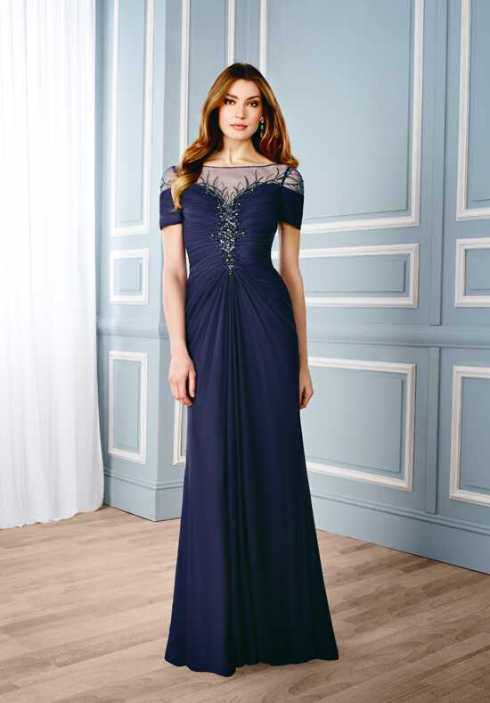 Val Stefani Celebrations MB7541 Blue Mother Of The Bride Dress