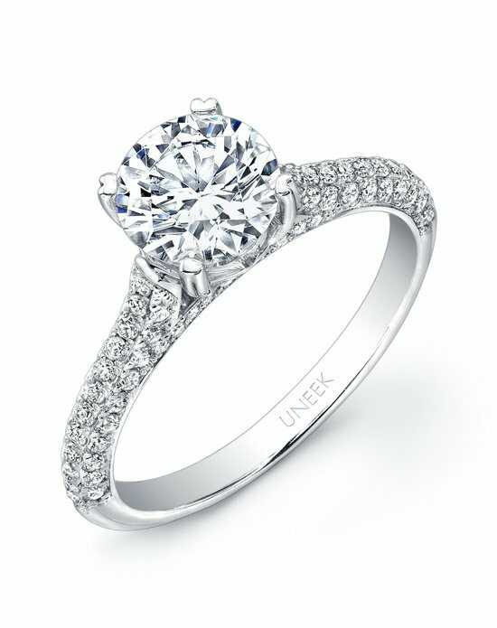 Uneek Fine Jewelry USM03-6.5RD Engagement Ring photo