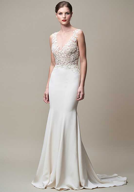 Taffeta wedding dresses jenny yoo collection keaton sheath wedding dress junglespirit Choice Image