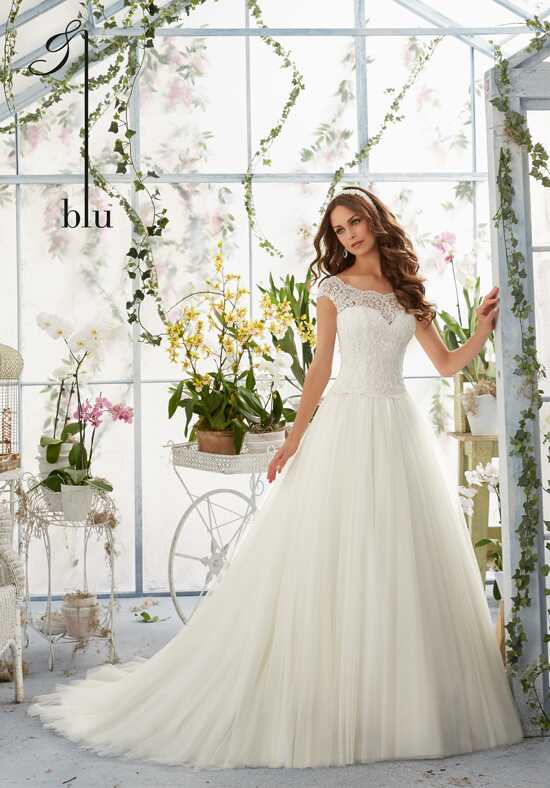 Morilee by Madeline Gardner/Blu 5403 Ball Gown Wedding Dress