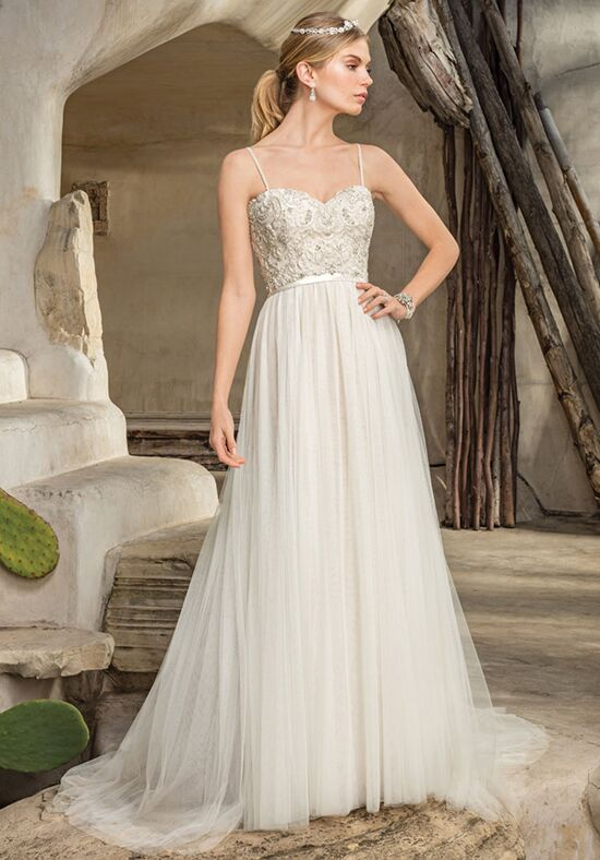 Casablanca Bridal Style 2296 Piper Sheath Wedding Dress