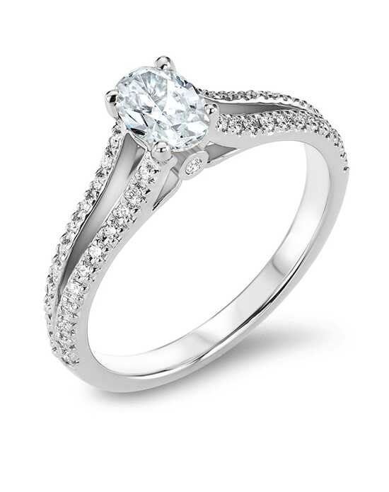 Ritani Glamorous Oval Cut Engagement Ring