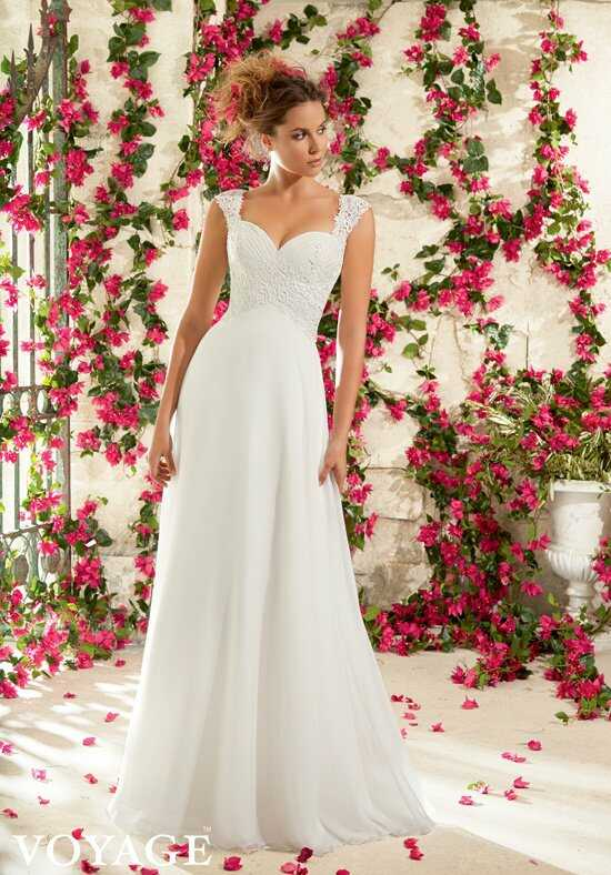 Morilee by Madeline Gardner/Voyage 6794 A-Line Wedding Dress