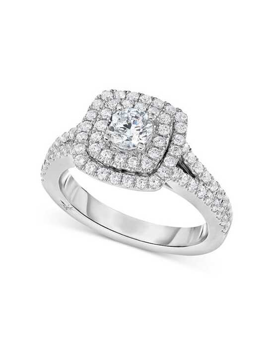 Macy's Fine Jewelry Glamorous Round Cut Engagement Ring
