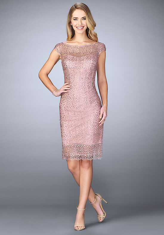 La Femme Evening 24905 Pink Mother Of The Bride Dress