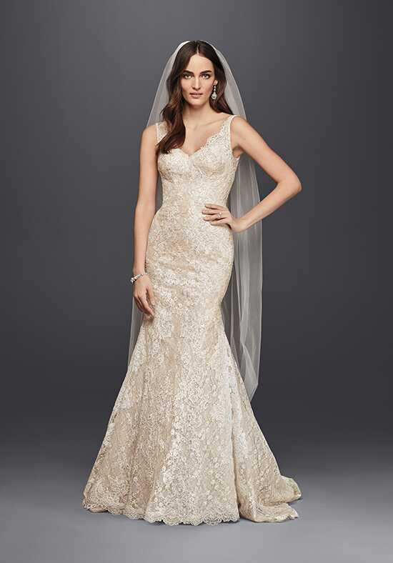 Oleg Cassini at David's Bridal Oleg Cassini Style CWG747 Mermaid Wedding Dress