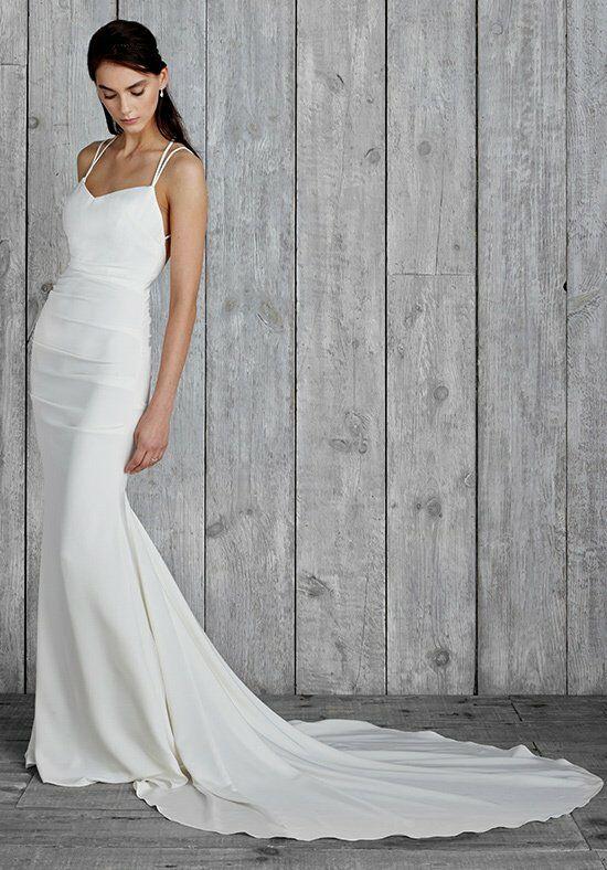 Nicole miller cleine fj10012 wedding dress the knot nicole miller cleine fj10012 a line wedding dress junglespirit Gallery