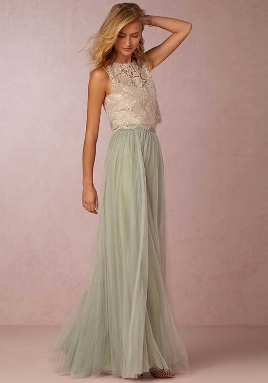 BHLDN (Bridesmaids) Louise Tulle Skirt-Green Bridesmaid Dress