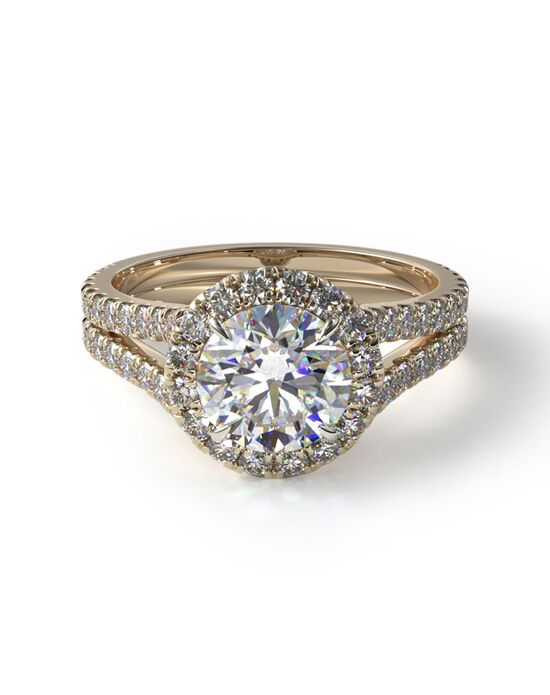 James Allen Glamorous Cushion, Pear, Round Cut Engagement Ring