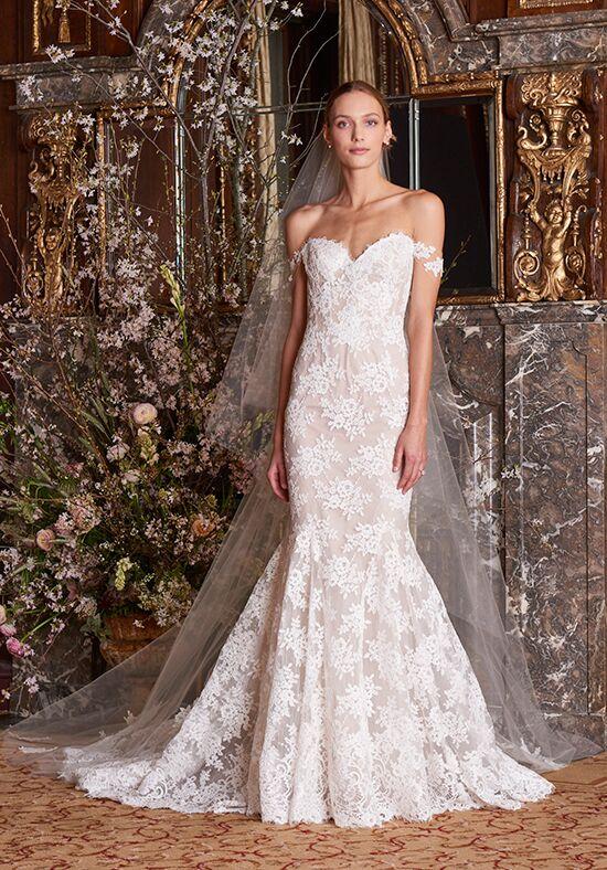 68e2e2aa43c91 Monique Lhuillier Eve Wedding Dress | The Knot