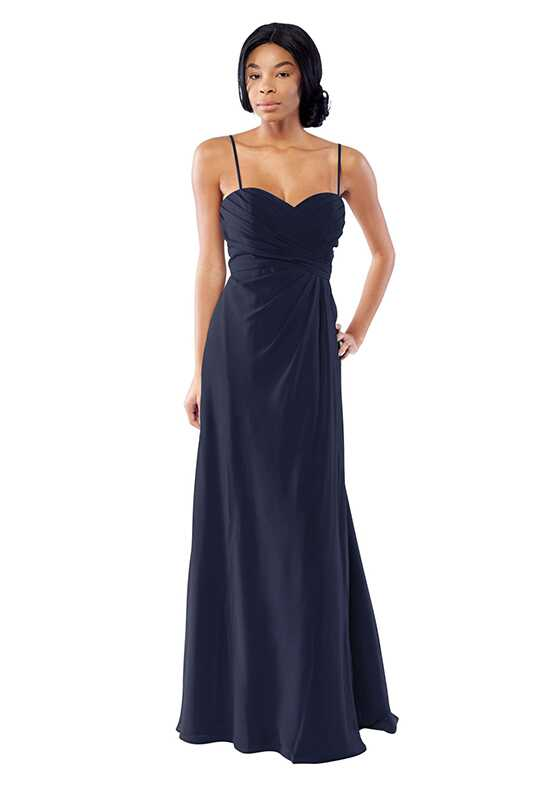 Brideside Brideside Ashley in Midnight Sweetheart Bridesmaid Dress