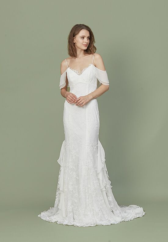 Christos Raleigh Sheath Wedding Dress