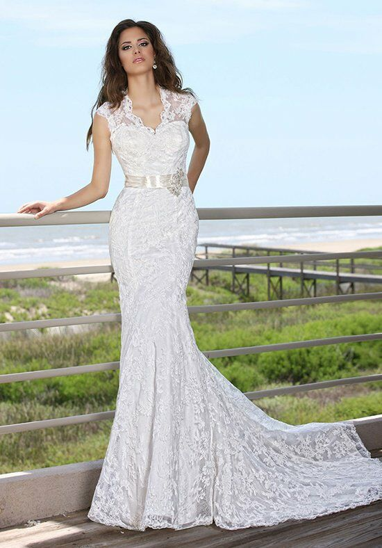 DaVinci Bridal 50240 Mermaid Wedding Dress