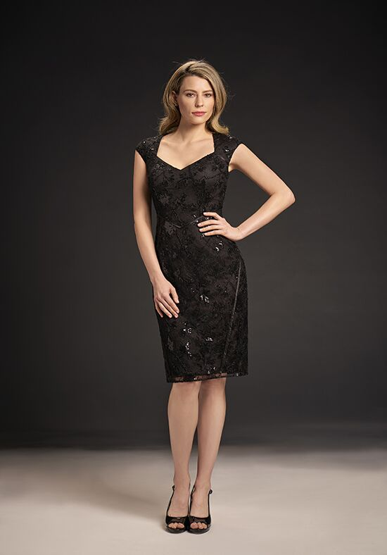 Jasmine Black Label M190057 Black Mother Of The Bride Dress