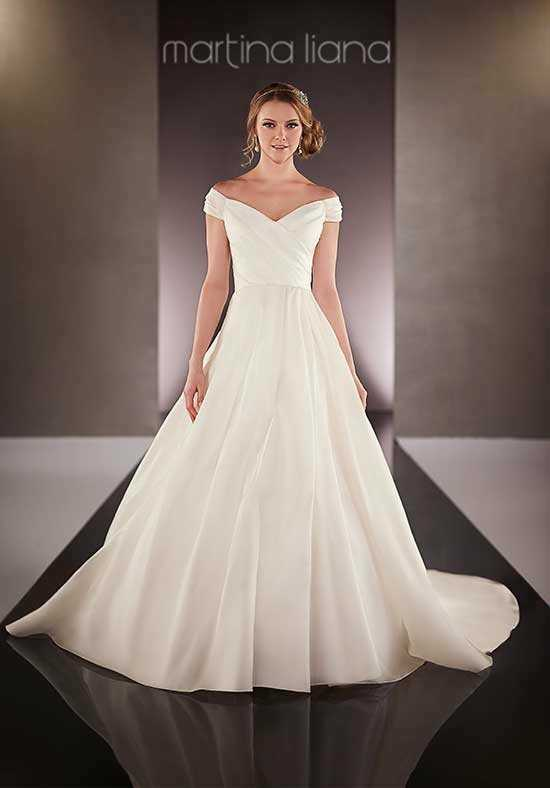 Martina Liana 712 A-Line Wedding Dress