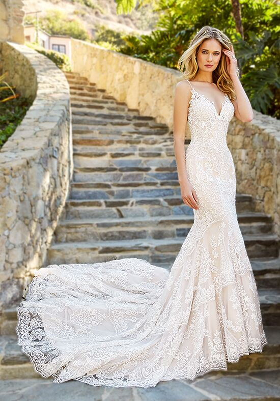 Moonlight Couture H1361B Mermaid Wedding Dress
