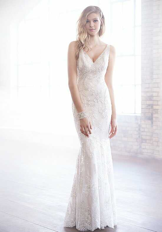 Madison James MJ164 Sheath Wedding Dress