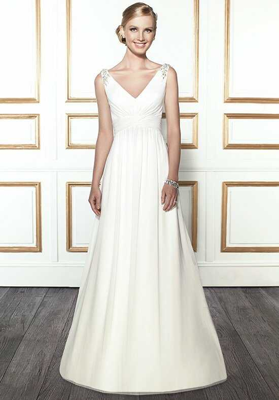 Moonlight Tango T675 A-Line Wedding Dress