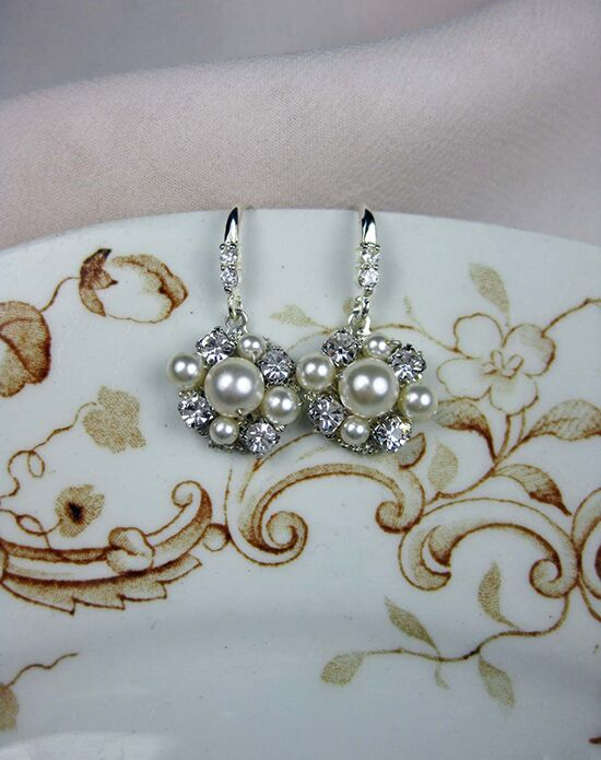 Everything Angelic Maud Earrings - e317 Wedding Earring photo