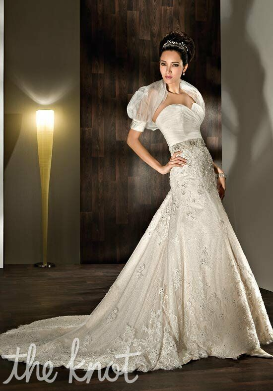 Demetrios 1428 A-Line Wedding Dress