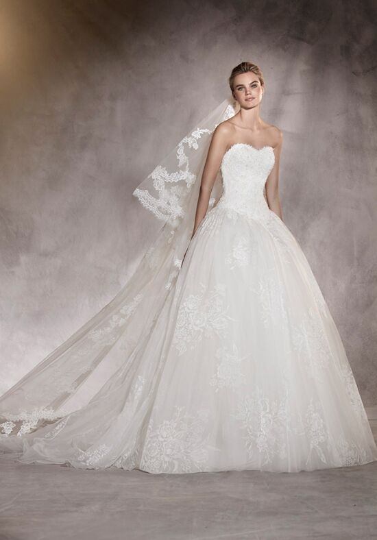 PRONOVIAS ARETA Ball Gown Wedding Dress