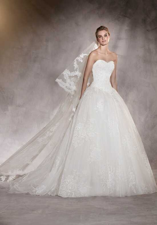 PRONOVIAS ARETA Wedding Dress photo